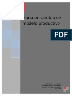 Hacia un cambio de modelo productivo