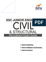 Ssc junior engineering exam 2020 civil engineering