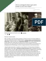 abc.es-Por qué Alfonso XIII no consiguió evitar que Lenin ejecutara al zar Nicolás II y sus cinco hijos