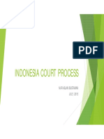Indonesian court process