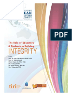 Building Integrity Through The Implementation Of Achievement Credit System (SKP)