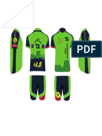 Green Color Cycling Jersey