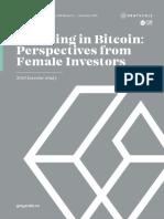 Bitcoin Female Investors