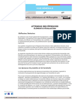 RA19 Lycee G 1-T HLP Attendus-epreuves Elements-evaluation 1205353