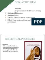 3-Perception Attitude and Values