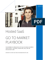 Partner Go-To-Market Playbook Hosted SaaS