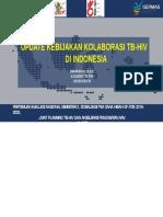 update kebijakan TB HIV di Indonesia