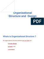 Orgn Structure & Design