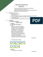 Lesson Plan English II