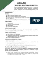 Handbook for  internship (fall 2019)