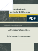 pre-orthodontic periodontal therapy.pptx