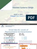 L06- RISCV Datapath Design