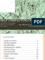 PPT ON SELF COMPACTING CONCRETE