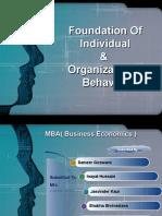 Foundation of Individual OB