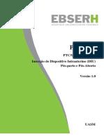 PTC-UASM-015-2019-V 1.0 - Inserção Do Dispositivo Intrauterino (DIU) Pós-parto e Pós-Aborto
