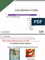 Health Care Marketing in India