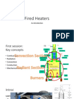 Introduction to Fired Heaters