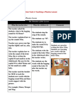 Observation Task 2 and Reflection