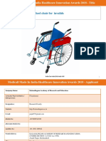 medical wheel chair