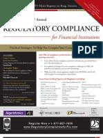Annual Regulatory Compliance for FI - Nov 2010