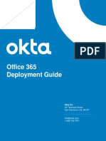 Okta O365 Deployment guide