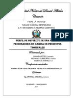 Perfil de Proyecto Final