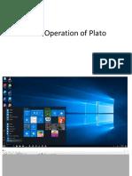 Basic Operation of Plato