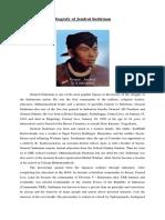 Biografy of Jendral Sudirman
