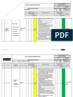 Risk Assessment for Flushing of Chilled Water Piping