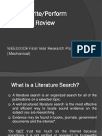 MEE40008 Literature Review new