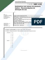 NBR 14105 - Manômetros