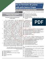 2ª Simulado TJPA - Analista Direito Oficial - Propaganda 23-11