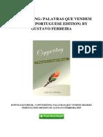COPYWRITING_ PALAVRAS QUE VENDEM MILHõES (PORTUGUESE EDITION) BY GUSTAVO FERREIRA.pdf