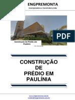 Construção de Prédio Em Paulínia