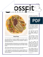 Cross Fit Meal Plan