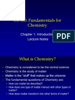 Fundamentals for Chemistry
