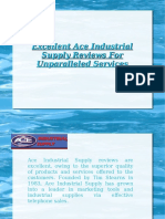 Excellent Ace Industrial Supply Reviews