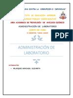 Administración de Laboratorio