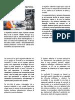 Importancia de la ingenieria industrial