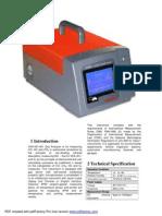 VEA 501 Gas Analyzer