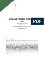 Informe Técnico Prueba 2 - Gastón Araya