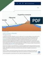 A Qua Es El Geoide y El Elipsoide Alfa Geomatics