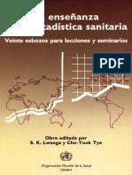 Lwaga y Tye La Enseñanza de La Estadística Sanitaria (1)