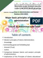 7 Major Basic Principles of Islamic Administration11 .ppt (2)