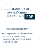 Olalekan Purchasing and Supply Chain Management