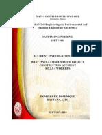 Sfty100 Investigation Report