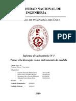 Informe Osciloscopio Fisica 3