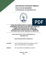 Re Ing.civil Manuel.rodriguez Luis.vera Análisis.hidrologico Datos