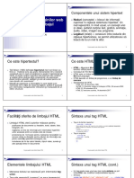 Curs 3 - HTML