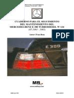 W124 - 300 D turbo 1993-1995 - Cuaderno de Seguimiento Mantenimiento